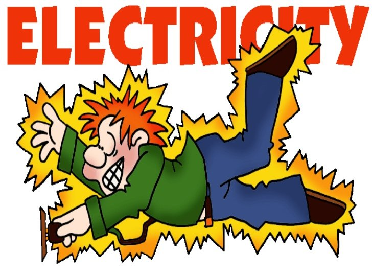 Electric circuit is dangerous