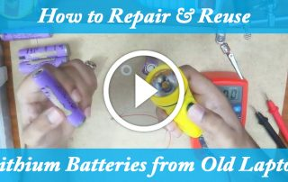 How to repair lithium ion battery video
