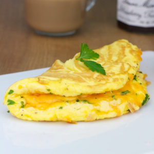 Recipe # 02 — Cheese Omelette