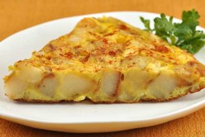 Recipe # 03 — Spanish Tortilla Omelette