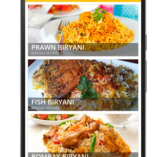 Hindi Recipes App